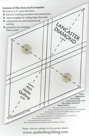 Lancaster Diamond Template