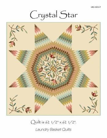 Crystal Star Pattern by Edyta Sitar