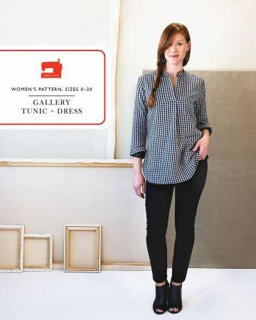 Gallery Tunic & Dress Pattern