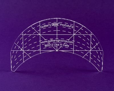 ProEcho 6 Ruler. By Quilter's Groove Rulers