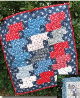 Bits of Charm Quilt Pattern + Mini Charm