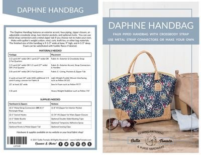 Daphne Handbag by Sallie Tomato