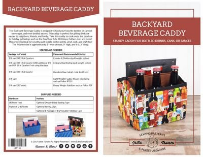 Backyard Beverage Caddy by Sallie Tomato
