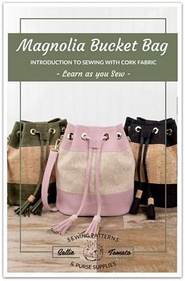 Magnolia Bucket Bag by Sallie Tomato