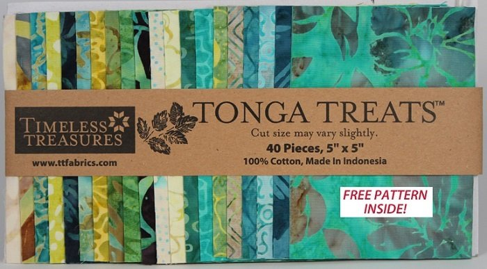 Tonga Treats - Mini Lagoon [40 - 5 x 5 Squares]