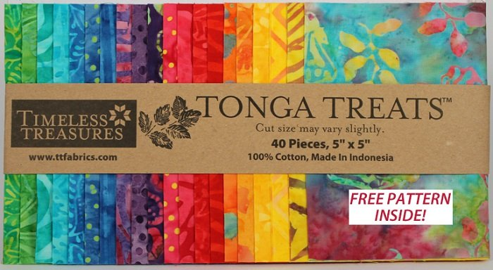 Tonga Treats - Mini Panata [40 - 5 x 5 Squares]