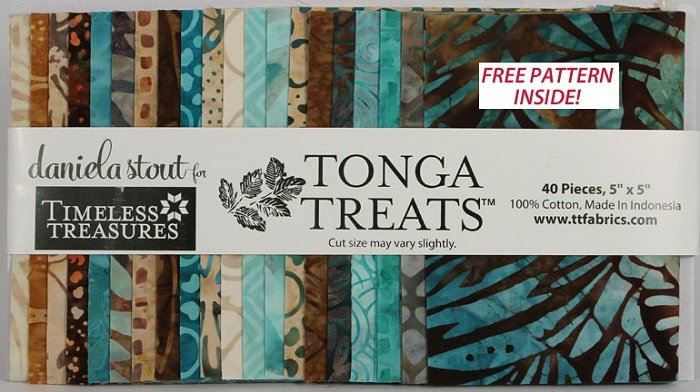 Tonga Treats - Mini Romance  [40 - 5 x 5 Squares]