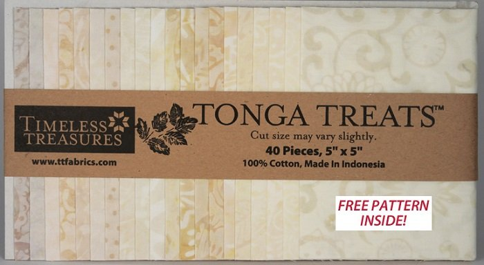 Tonga Treats - Mini Whisper [40 - 5 x 5]