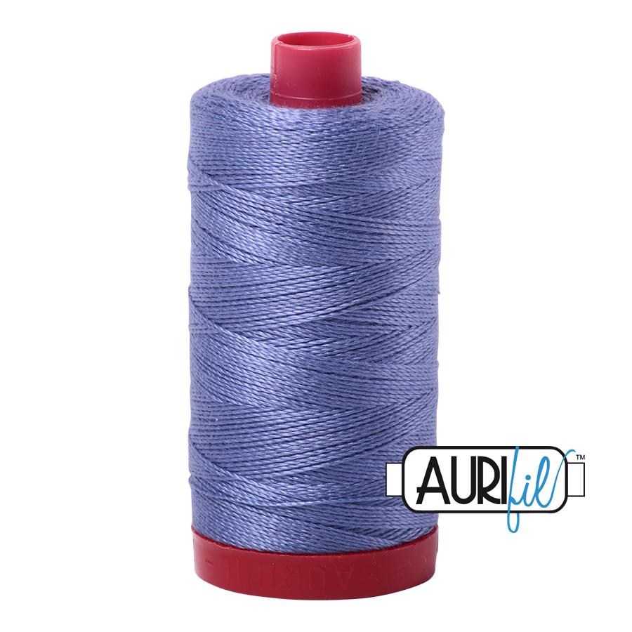 Aurifil 12wt col. 2525 Dusty Blue Violet 356yds