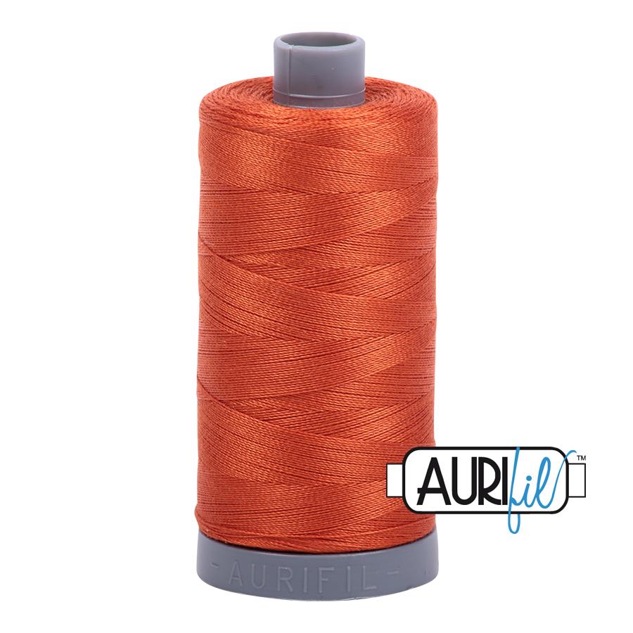 Aurifil 28wt col. 2240 Rusty Orange 820yds