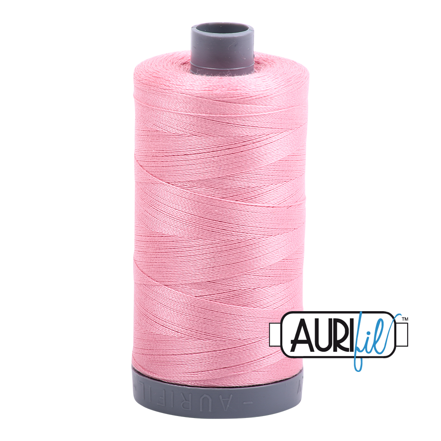 Aurifil 28wt col. 2425 Bright Pink 820yds