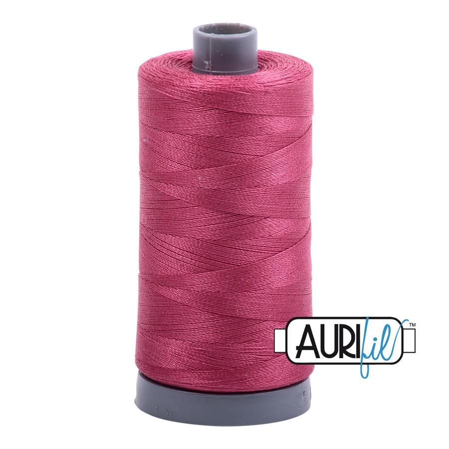 Aurifil 28wt col. 2455 Medium Carmine Red 820yds