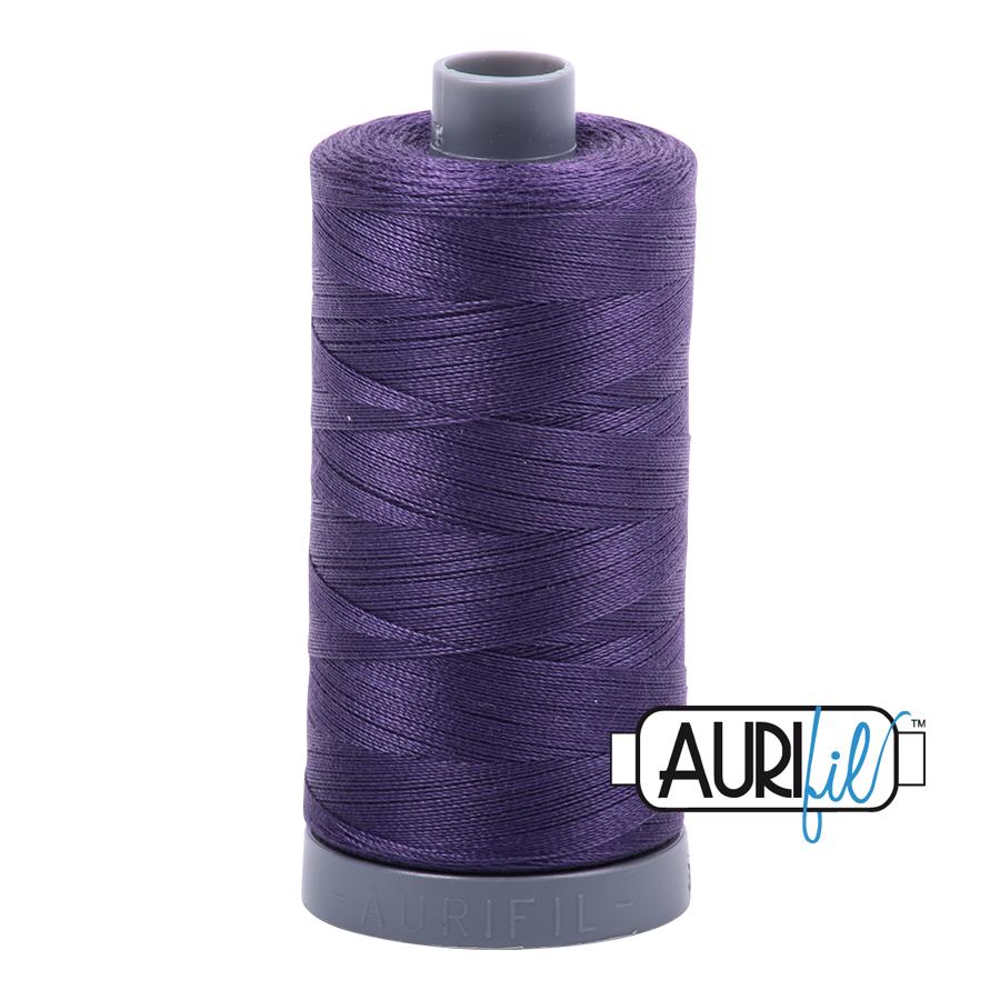 Aurifil 28wt col. 2581 Dark Dusty Grape 820yds