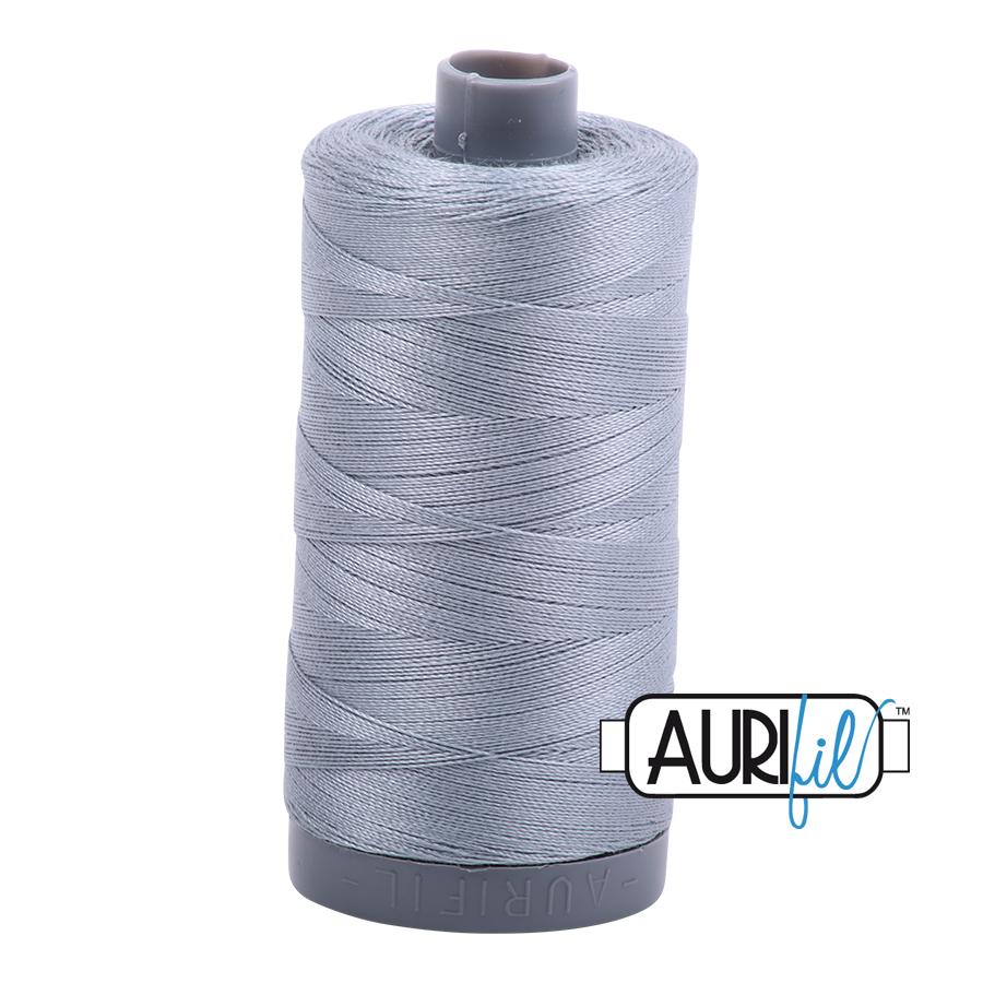Aurifil 28wt col. 2610 Light Blue Grey 820yds