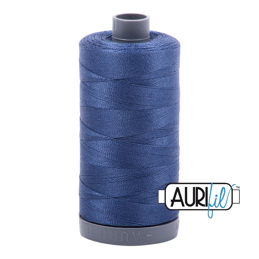 Aurifil 28wt col. 2775 Steel Blue 820yds