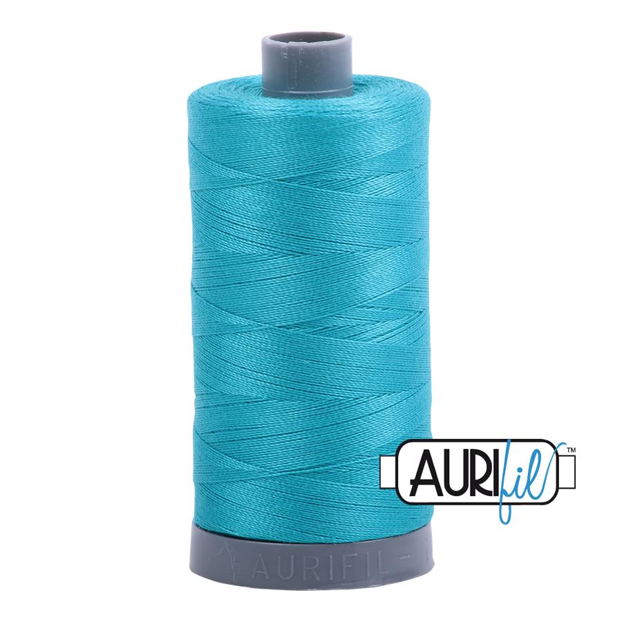 Aurifil 28wt col. 2810 Turquoise 820yds