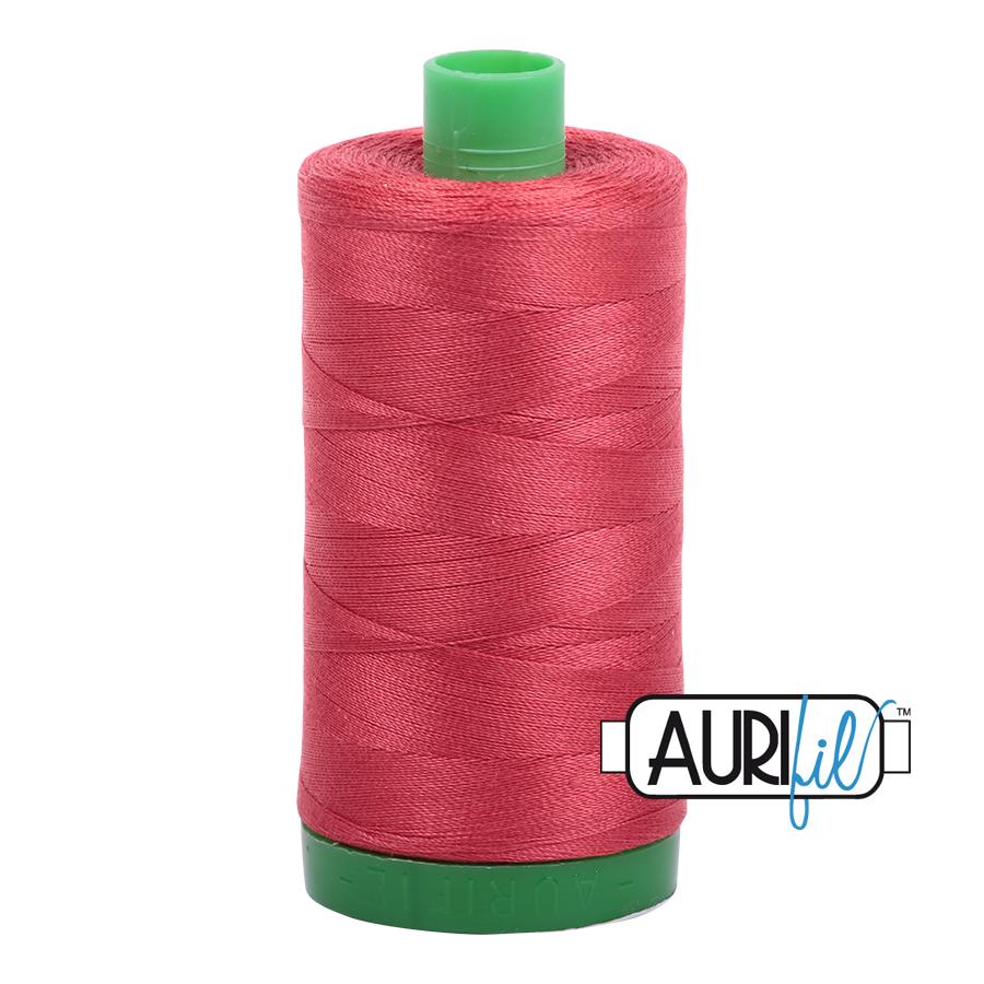 Aurifil 40 wt col. 2230 Medium Peony 1094yds