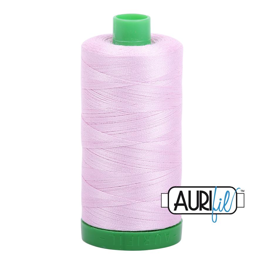 Aurifil 40 wt col. 2510 Light Lilac 1094yds