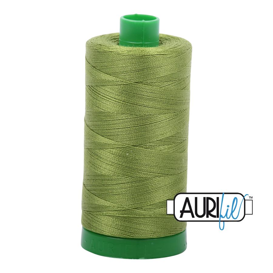 Aurifil 40 wt col. 2888 Fern Green 1094yds