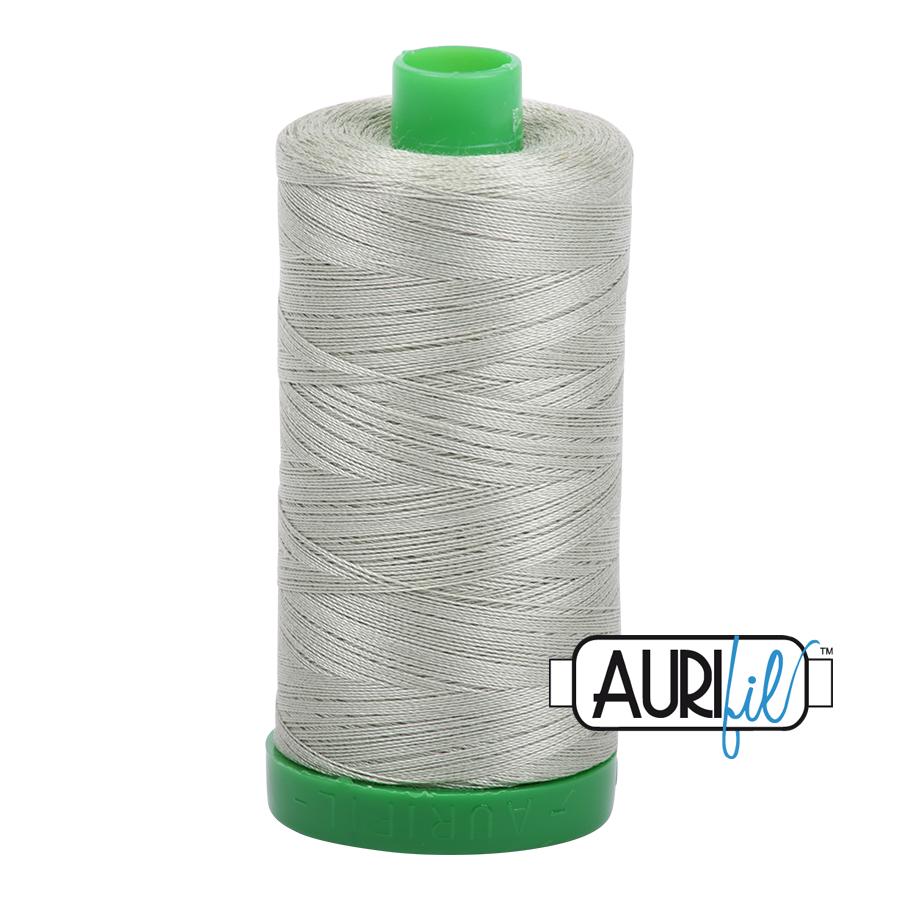 Aurifil 40 wt col. 2902 Light Laurel Green 1094yds
