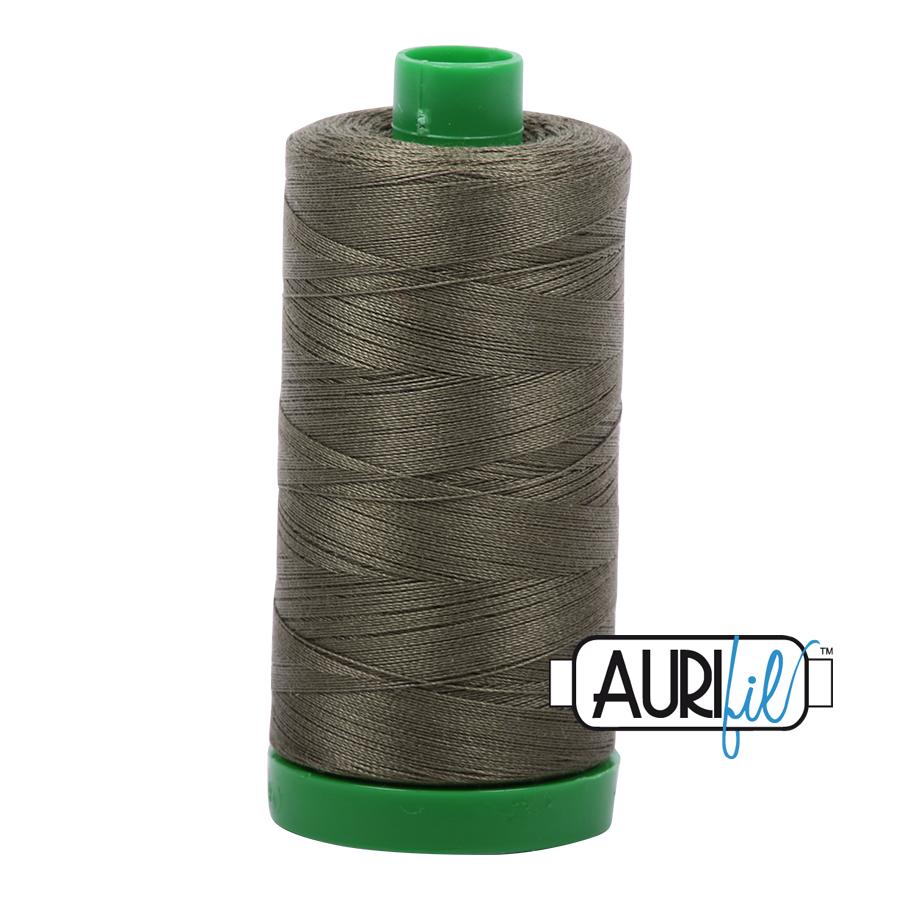 Aurifil 40 wt col. 2905 Army Green 1094yds