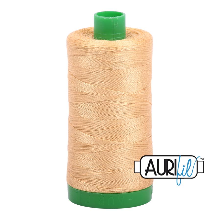 Aurifil 40 wt col. 5001 Ocher Yellow 1094yds