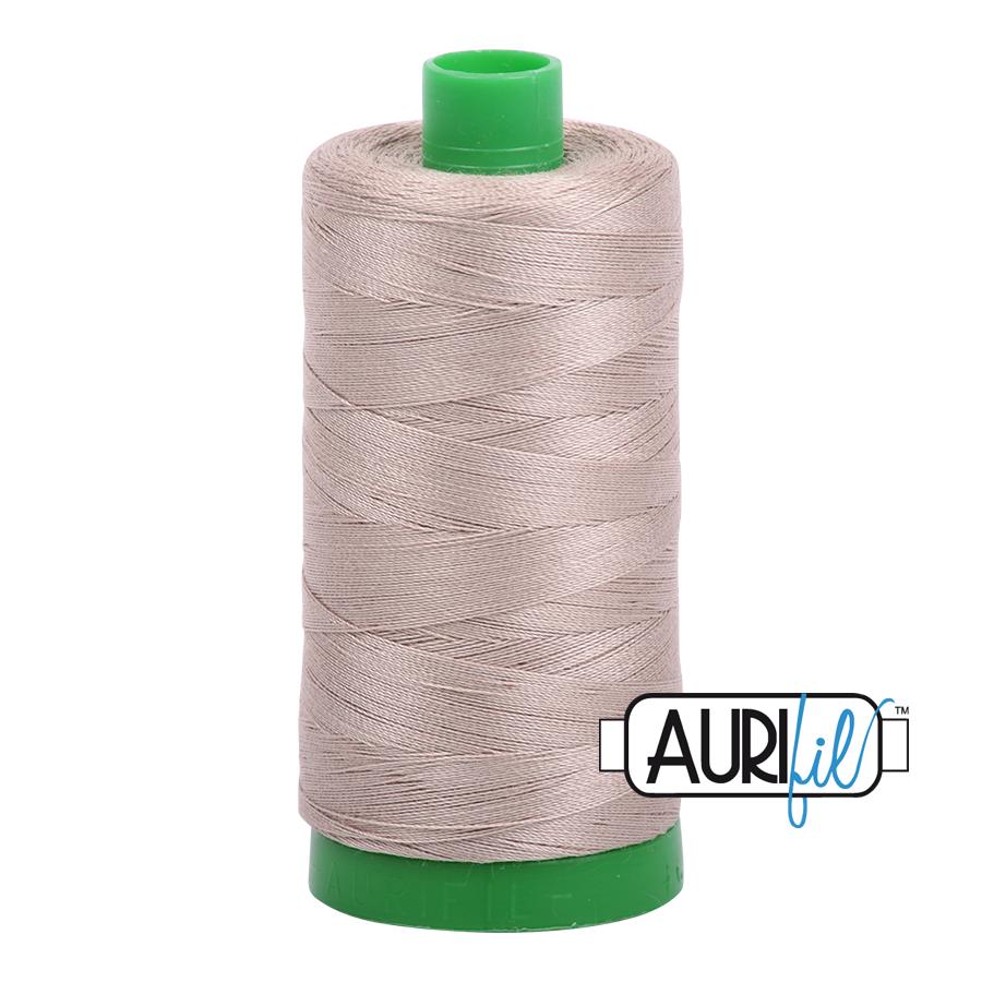 Aurifil 40 wt col. 5011 Rope Beige 1094yds