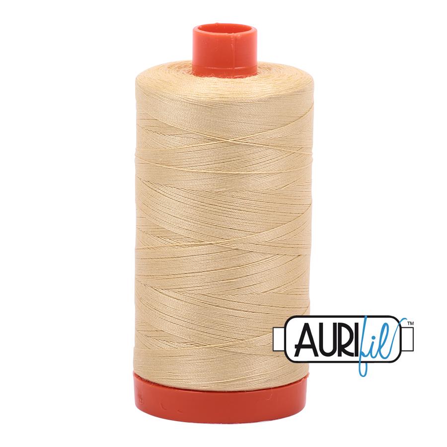 Aurifil 50 wt col. 2125 Wheat 1422yds