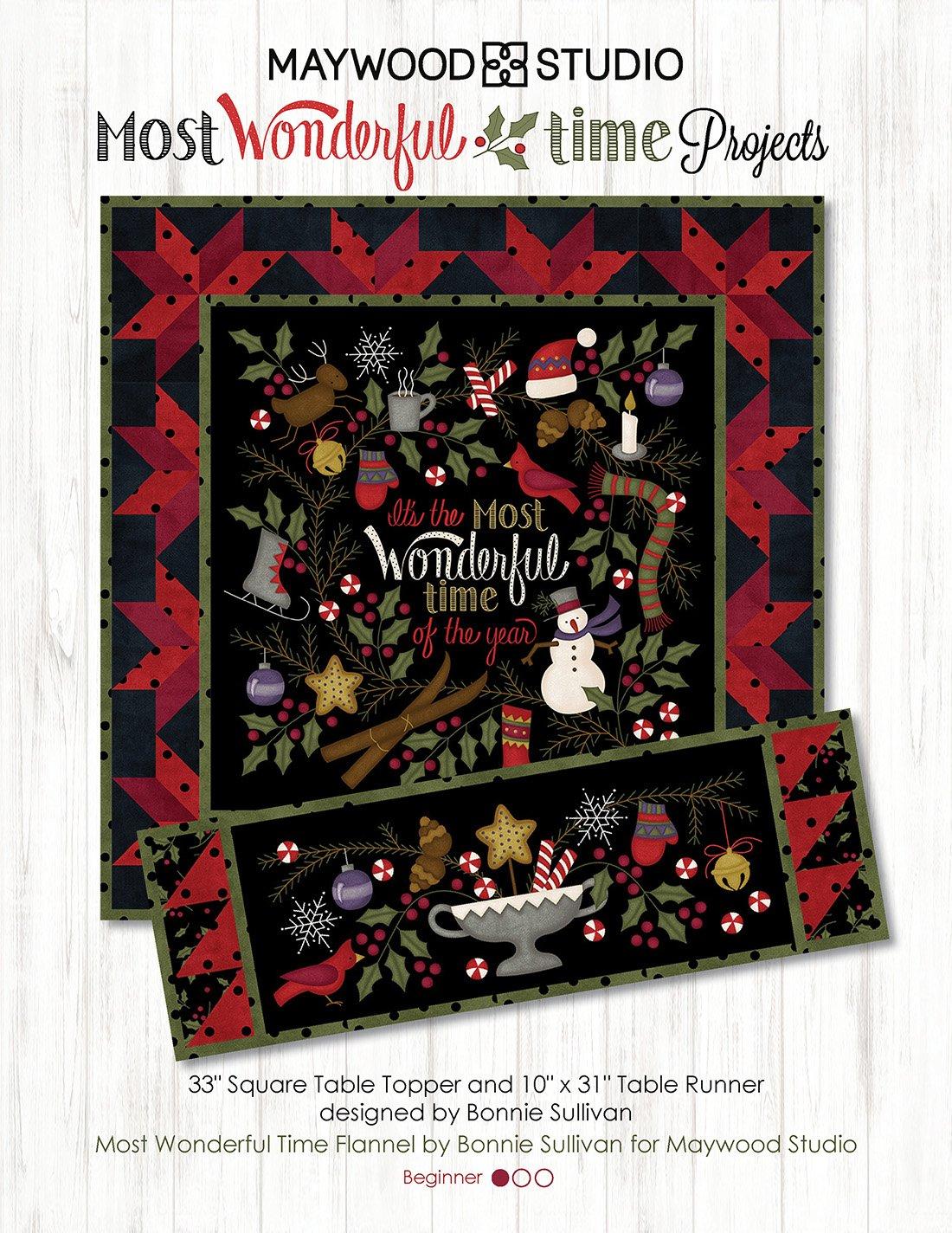 Most Wonderful Time Flannel Kit