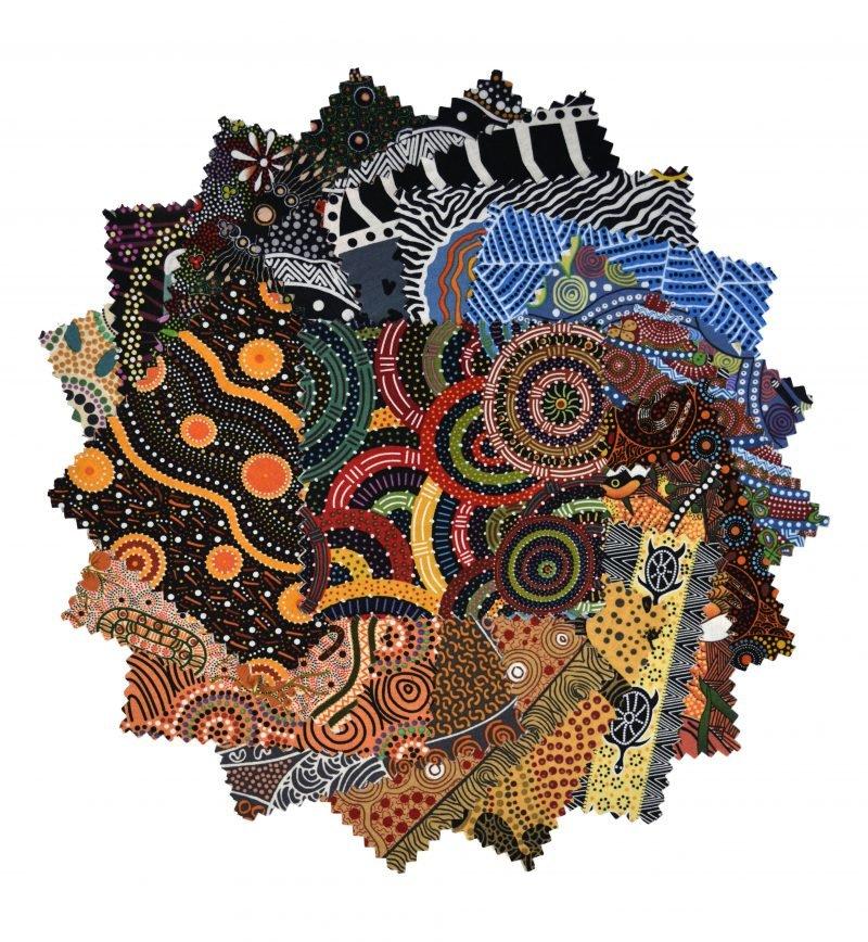 Aboriginal Dreamtime Square Pack - Multi 10