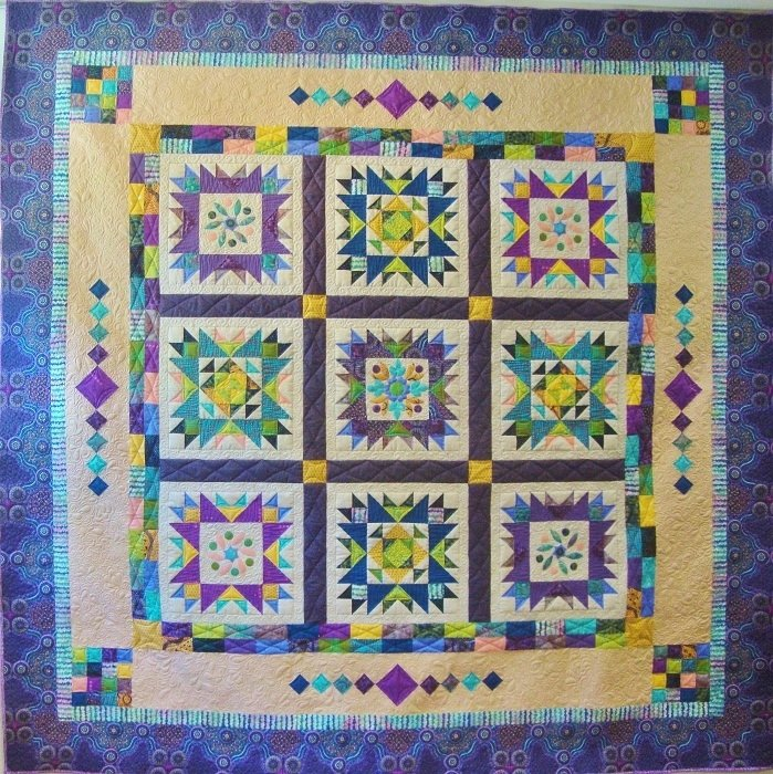 Quilt Backing -  Oley Garden Quilt