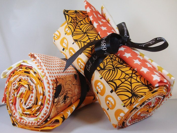 Orange Halloween Fat Quarter Bundle