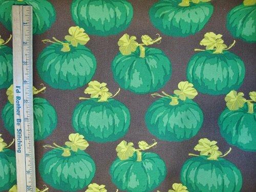 100% cotton Green Pumpkins