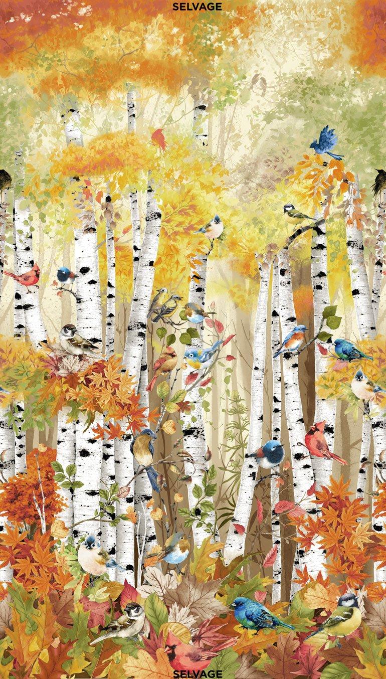 Birch Song 24 Digitally Printed Panel CD7408-MULTI