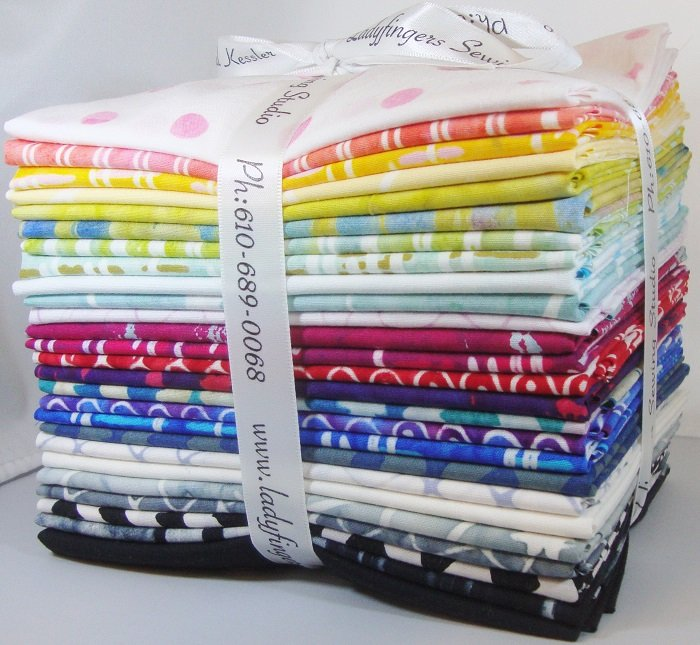 Parts Dept. Batiks Fat Quarter Bundle