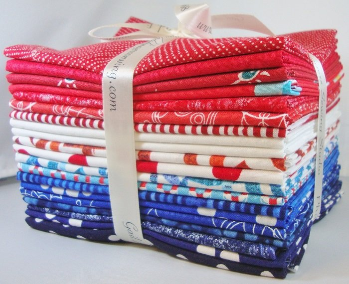 Patriotic Fat Quarter Bundle - Brights