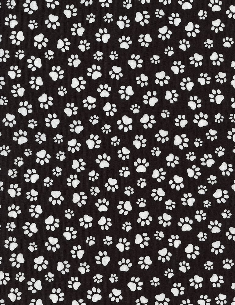 Paw Print C1846-BLACK