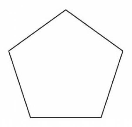 1 Pentagon - English Paper Piecing (50pcs)