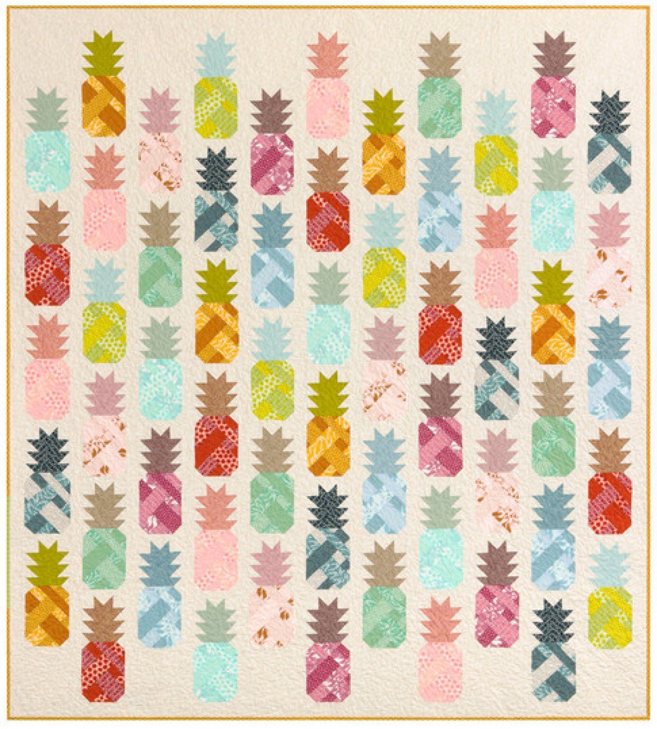 Quilt Backing -  Pineapple Farm Quilt