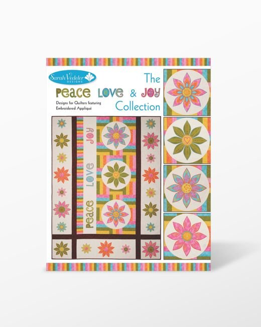 GO! Peace Love & Joy Embroidery Collection