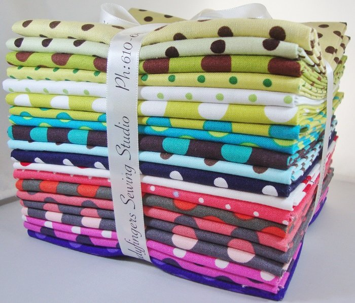 Assorted Polka Dots Fat Quarter Bundle