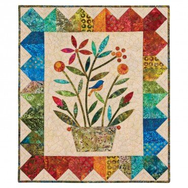 GO! Rainbow Bouquet Wall Hanging Quilt Kit