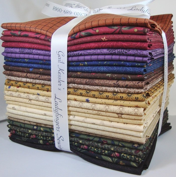 Primitive Threads Fat Quarter Bundle
