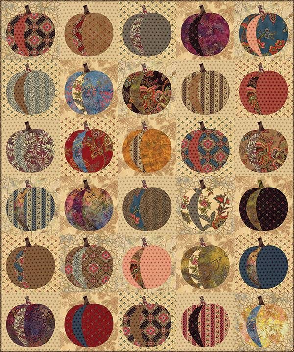 Pumpkins Quilt Kit
