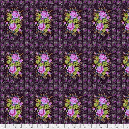 Hindsight - Stitched Bouquet PWAH147.EGGPLANT