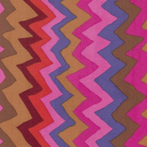 Kaffe Fassett Collective - Sound Waves - Brown PWBM062.BROWN