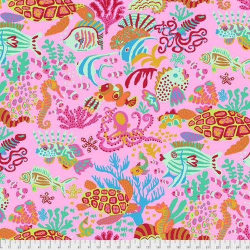 Kaffe Fassett Collective - Scuba - Pink PWBM064.PINKX