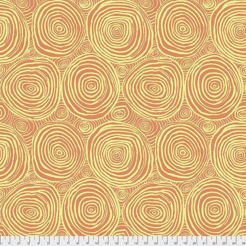 Kaffe Fassett Collective - Onion Rings - Melon PWBM070.MELON