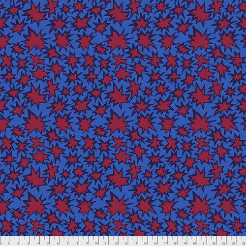 Kaffe Fassett Collective - Bang - Blue PWBM072.BLUE