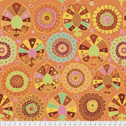 Kaffe Fassett Collective - Turkish Delight - Gold PWGP081.GOLD